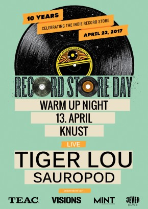 RECORD STORE DAY WARM UP NIGHT