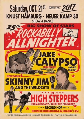25th ROCKABILLY ALLNIGHTER HAMBURG