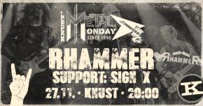 METAL MONDAY: RHAMMER