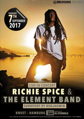 RICHIE SPICE & THE ELEMENT BAND