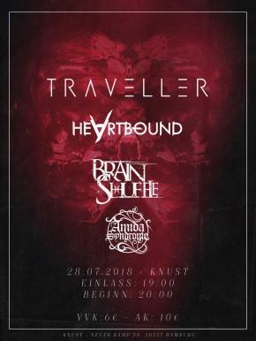 TRAVELLER + BRAINSHUFFLE + HEARTBOUND + AMIDA SYNDROME