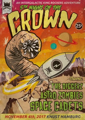 SPACE CADETS + ASTRO ZOMBIES + THE DIGGERZ