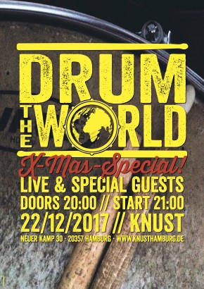 DRUM THE WORLD LIVE X-MAS SPECIAL