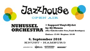 JAZZHOUSE OPEN AIR: NUHUSSEL ORCHESTRA