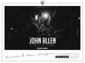 JOHN ALLEN & THE BLACK PAGES
