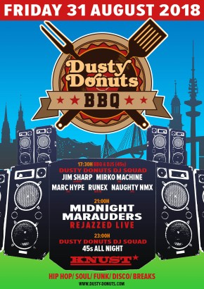 DUSTY DONUTS BBQ + AFTERSHOW