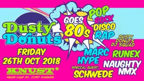 DUSTY DONUTS GOES 80s
