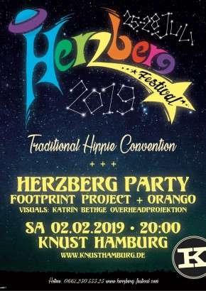 HERZBERG PARTY: FOOTPRINT PROJECT + ORANGO