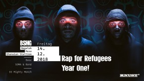 RAP FOR REFUGEES – YEAR ONE!