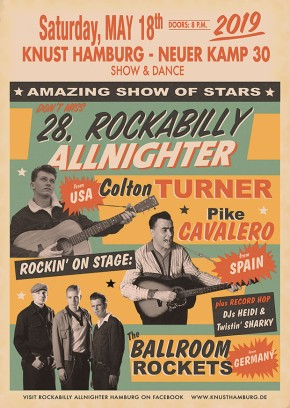 28th ROCKABILLY ALLNIGHTER HAMBURG