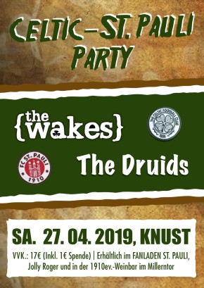 CELTIC-ST.PAULI-SUPPORTERS-PARTY 2019