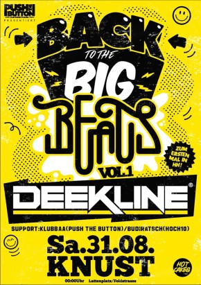 BACK TO THE BIG BEATS VOL. 1: DEEKLINE