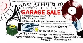 6. HAMBURGER GARAGE SALE
