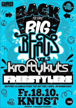 Back To The Big Beats Vol. 2: Krafty Kuts + The Freestylers