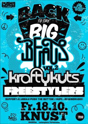 Back To The Big Beats Vol. 2: Krafty Kuts + The Freestylers