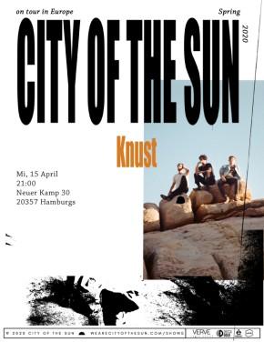 CITY OF THE SUN (NYC) – verlegt auf 22.09.20