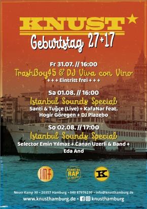 KNUST GEBURTSTAG 27+17: ISTANBUL SOUND SPECIAL # 2
