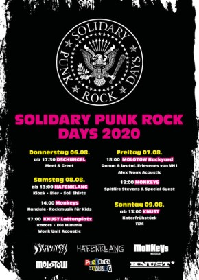 SOLIDARY PUNK ROCK DAYS