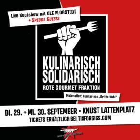 KULINARISCH SOLIDARISCH  – Live on Stage