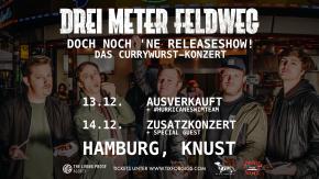 DREI METER FELDWEG – verlegt auf den 11.12.21 – Tickets behalten ihre Gültigkeit