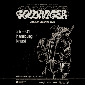 GOLDROGER – verlegt ins Mojo – Tickets behalten ihre Gültigkeit