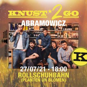 KNUST2GO ROLLSCHUHBAHN: ABRAMOWICZ – verlegt auf den 02.08.21