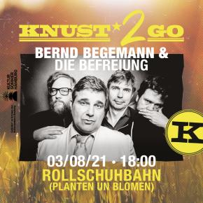 KNUST2GO ROLLSCHUHBAHN: BERND BEGEMANN & DIE BEFREIUNG