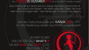 GANJA CLUB – The Special Xmas Edition