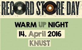 RECORD STORE WARM UP NIGHT