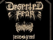 METAL MONDAY – DESERTED FEAR + HYDROPHOBIC + TASTE OF GREED!