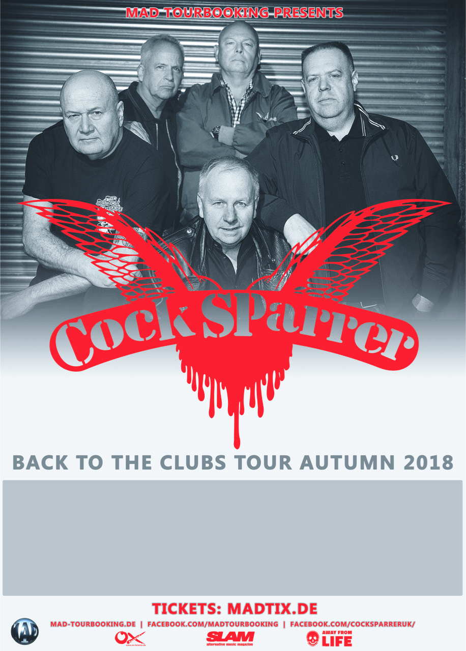 Cock sparrer where are