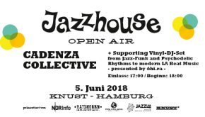 JAZZHOUSE OPEN AIR: CADENZA COLLECTIVE
