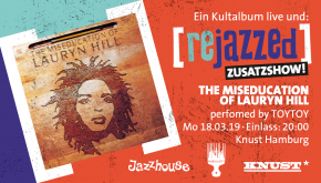 THE MISEDUCATION OF LAURYN HILL [rejazzed] – performed by TOYTOY