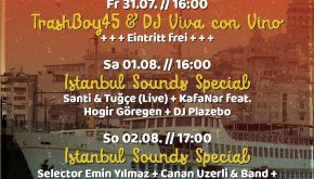 KNUST GEBURTSTAG 27+17: ISTANBUL SOUND SPECIAL # 1