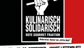 KULINARISCH SOLIDARISCH  – Live on Stage