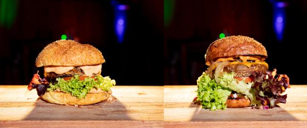 HHamburger und Chili Gonzales-Burger