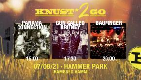 KNUST2GO HAMMER PARK: PANAMA CONNECTION + GUN CALLED BRITNEY + BAUFINGER