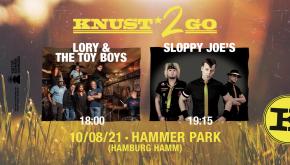 KNUST2GO HAMMER PARK: LORY & THE TOY BOY + SLOPPY JOE'S