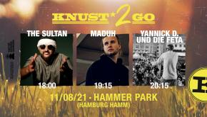 KNUST2GO HAMMER PARK: THE SULTAN + MADUH + YANNICK D. UND DIE FETA