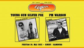 25+1 JAHRE  LÉGÈRE REORDINGS: YOUNG GUN SILVER FOX + PM WARSON